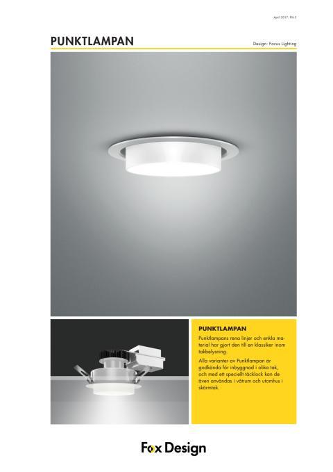 Punktlampan LED