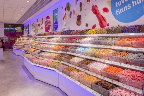 En ny värld av godis
