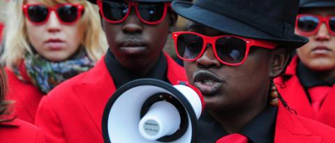 ActionAid utmäter ambassader i Köpenhamn