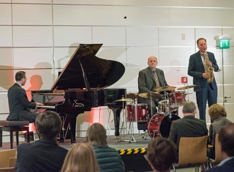 Die Three Wise Men begeisterten die Gäste mit einem Streifzug durch die Welt des Jazz.