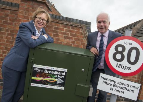 Lilley Close residents say superfast broadband is right up their street!