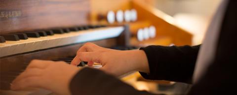 Jubiluemskonsert med högskolans kyrkomusikstudenter