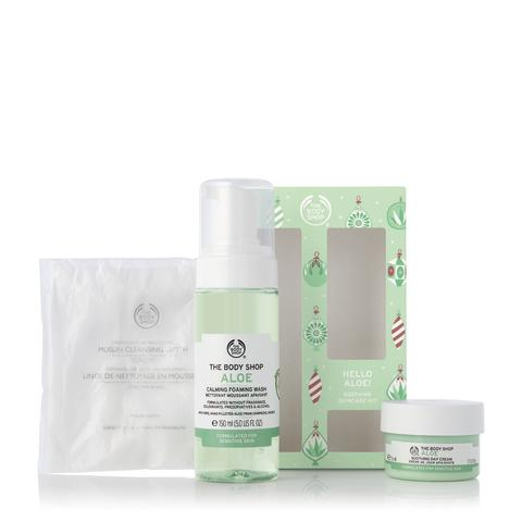 Hello Aloe! Soothing skincare set