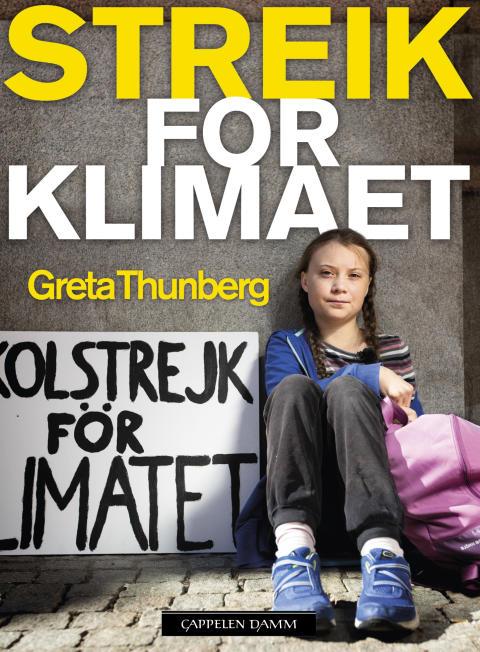Cappelen Damm utgir to bøker av og om Greta Thunberg