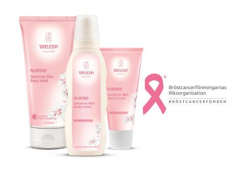 Weleda är med i kampen mot bröstcancer