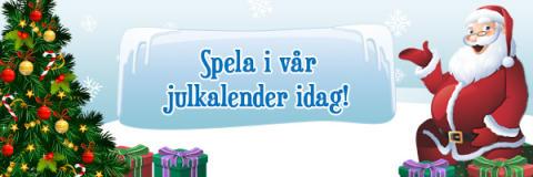 Julstämningen är garanterad i Viking Slots julkalender
