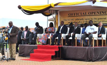 Sweden Ghana Medical Centre i Accra har invigts