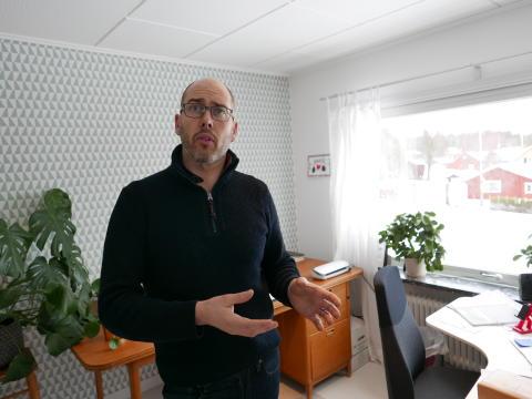 Pelle Sjögren berättar hur det tänker kring sina tjänster