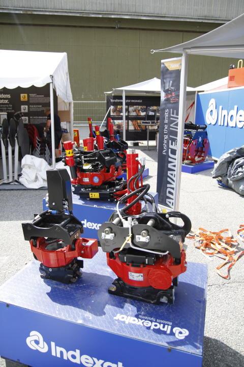 Indexator Rototilt Systems AB ställer ut på Anlegg 2014, Norge