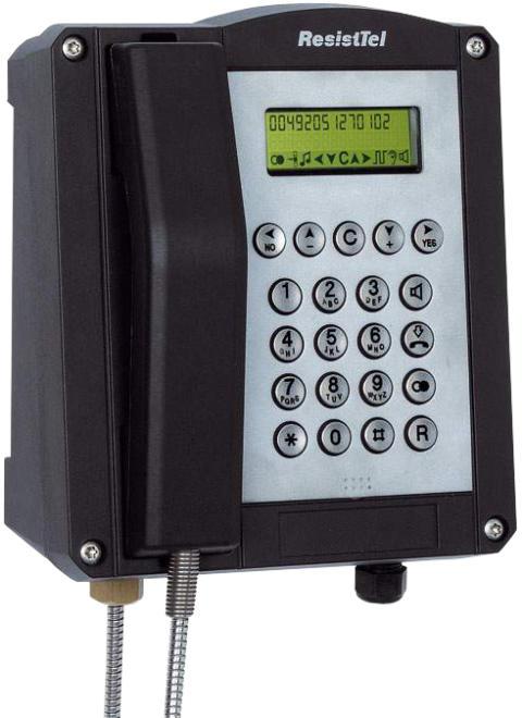 Robust IP-telefon ResistTel VoIP2 för extrema miljöer!