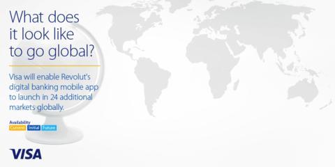 Revolut wählt Visa als führenden globalen Partner für internationale Expansion