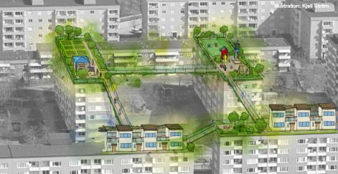 Miljonprogrammen levererar lösningen till hållbara städer