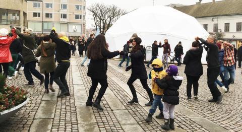 Pressträff för Vinterlund del 2: Vinterkupolen på Stortorget
