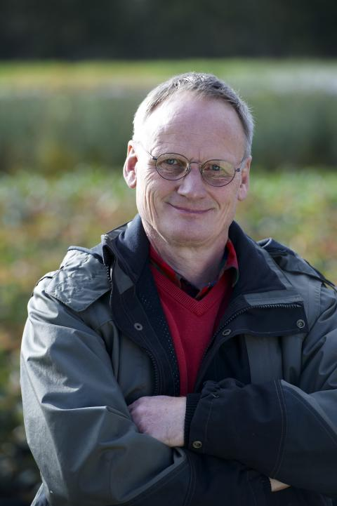 Nils Andersen en av Kungliga Patriotiska Sällskapets trädgårdsmedaljörer 2015.