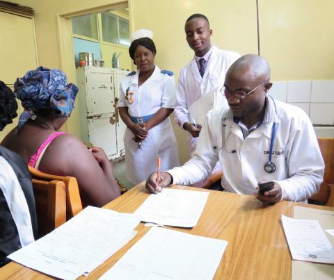 Skånskt patientjournalsystem på statligt sjukhus i Zambia