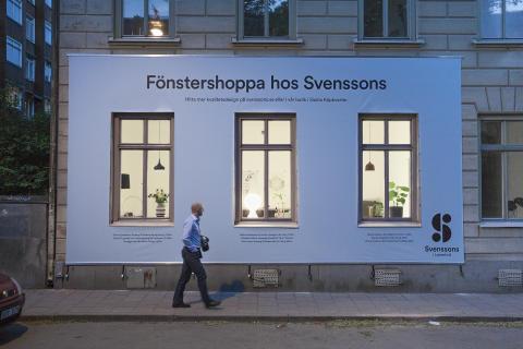 Svenssons i Lammhult bjuder på riktig fönstershopping