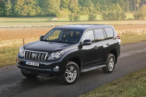 Nya generationen Toyota LandCruiser snålast i klassen
