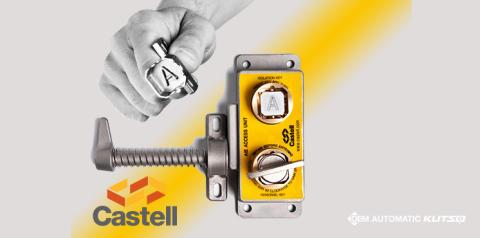 Opnå det højeste sikkerhedsniveau med låsesystemer fra Castell