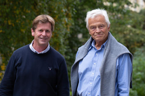 Project manager Øyvind Neslein and Chief Design Officer Niels Torp