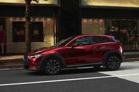 Mazda avduker 2018 CX-3 på New York Auto Show