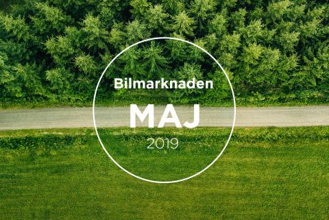 Bilmarknaden maj 2019