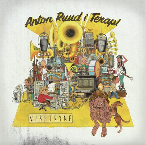Anton Ruud i Terapi er ute med nytt album