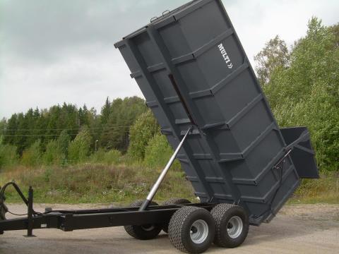 Multitrailer - Ny serie lantbruks- och entreprenadvagnar premiärvisas på Elmia Lantbruk