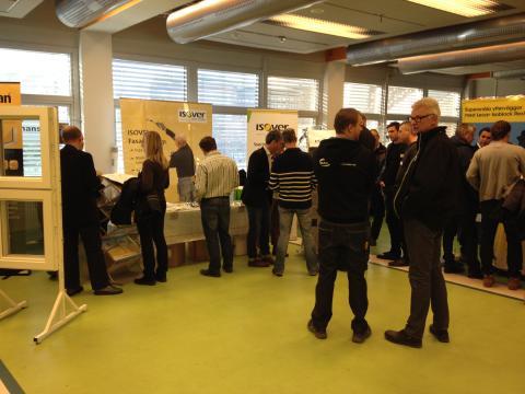 Lågenergihusmässor tillsammans med Skånsk Byggtjänst i Gävle, Sundsvall och Östersund