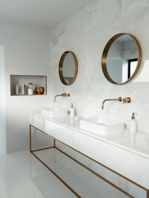 Dekton Bathroom - Helena A
