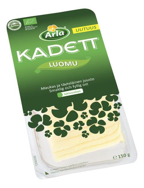 Arla Kadett luomujuustoviipaleet 150 g