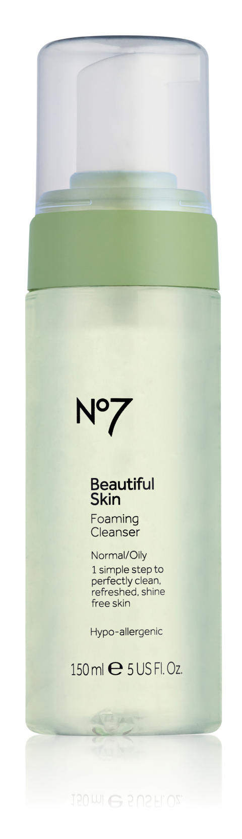 No7 Beautiful skin Foaming cleanser