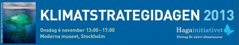 Pressinbjudan: Klimatstrategidagen 2013