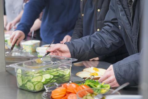 Pressinbjudan - Ny bygger vi om Kallingeskolans kök till varmmatsproduktion