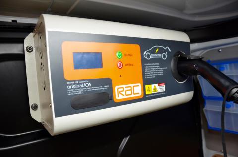 The 2019 RAC EV Boost unit