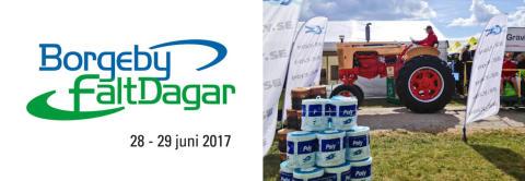Bild med länk till Evenemangssida Borgeby fältdagar 2017 med Poly-Produkter