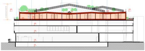 Förskola byggs på Lidls tak
