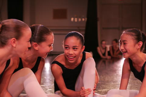 Ballet Girls Laughing