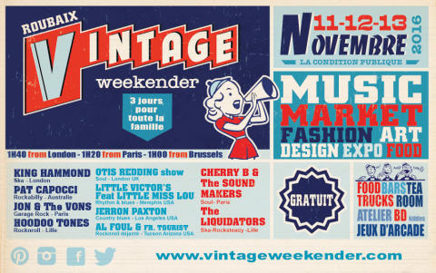 The Roubaix Vintage Weekender: Northern Europe's Largest Food & Music Festival & Vintage Market