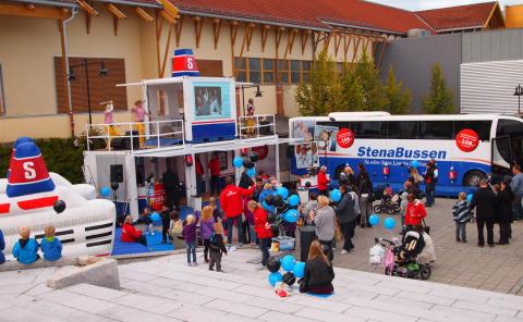 StenaBussen lanseras med lokala event