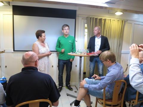 Jönköping och Falun – delad fjärde plats – Sveriges Elbilbästa Kommun 2013.