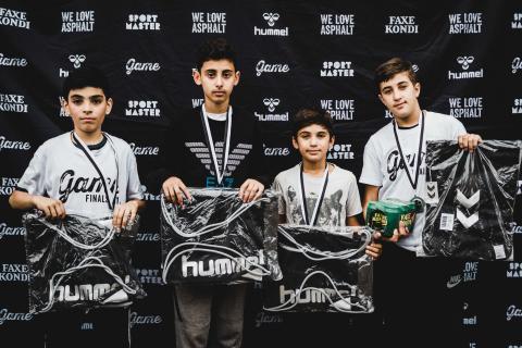 GAME Finals '17 andenplads gadefodbold 10-12 år til GAME Mjølnerparken