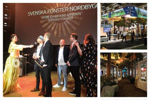 Två Gyllene hjul till Svenska Fönster