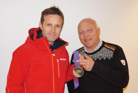 OL-medalje til Norges Olympiske Museum
