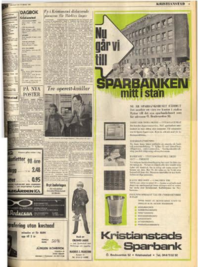 För 40 år sedan…