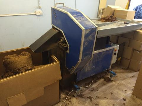 Suspected illicit tobacco factory dismantled