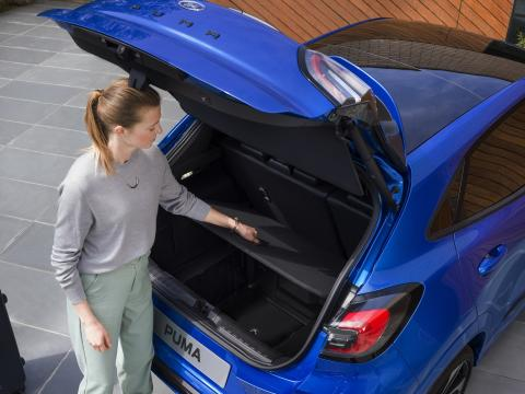 Ford Puma portbagaj