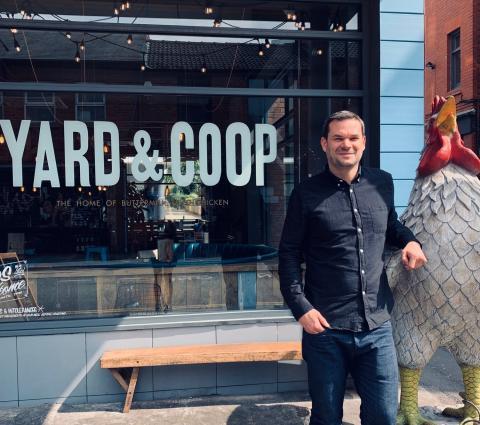 Carl Morris Co- Founder Of Yard & Coop joins Exp101