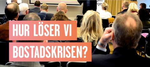 Pressinbjudan: Seminarium om hur marknadshyror skulle påverka hyrorna i Helsingborg