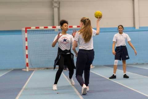 Handball, Female, Young People