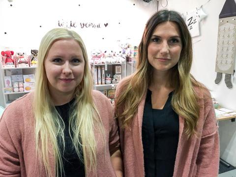 Elin Andersson och Marie Åhlund från Little Venue var nöjda med första Nolia Kids.